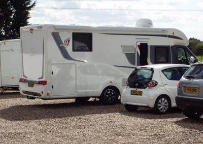 Motor Caravans at Seven Acre Farm Campsite